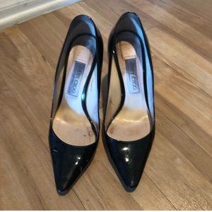 Jimmy Choo black Anouk patent leather heels